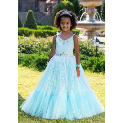 Нарядное бальное платье для девочки 11759