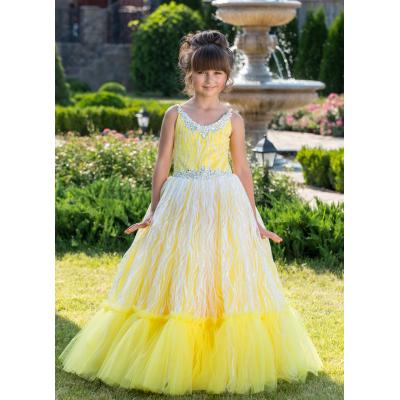 Нарядное бальное платье для девочки 11758