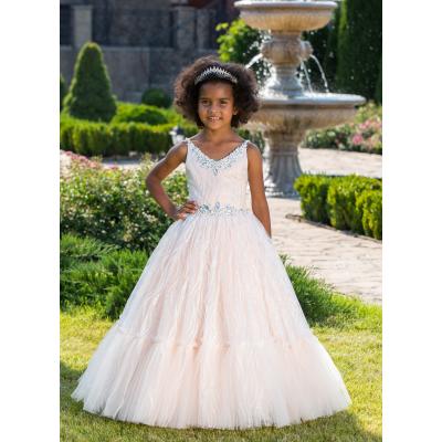 Нарядное бальное платье для девочки 11757