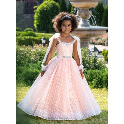Нарядное бальное платье для девочки 11756