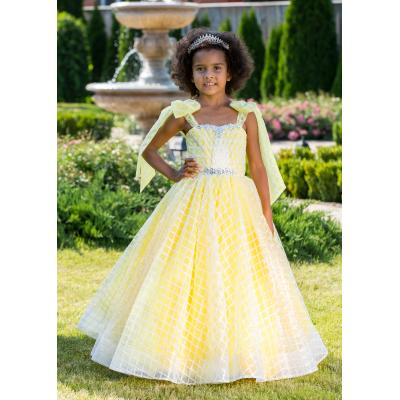Нарядное бальное платье для девочки 11754