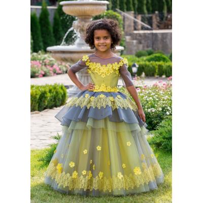 Нарядное бальное платье для девочки 11751