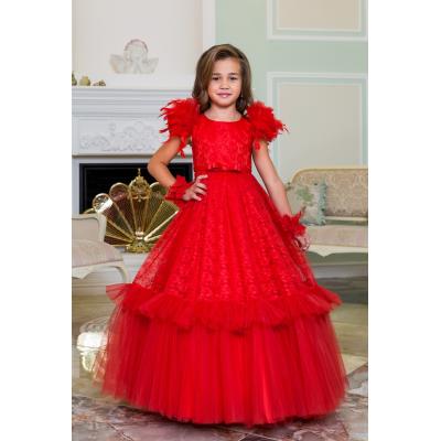 Нарядное бальное платье для девочки 11785