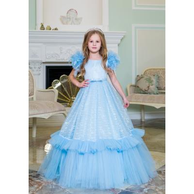 Нарядное бальное платье для девочки 11784