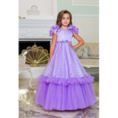 Нарядное бальное платье для девочки 11783