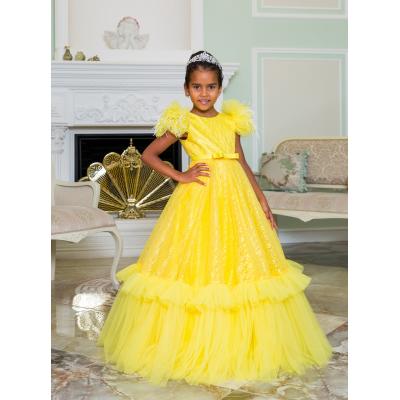 Нарядное бальное платье для девочки 11782