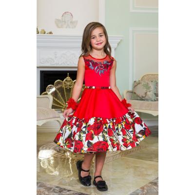 Нарядное бальное платье для девочки 11772