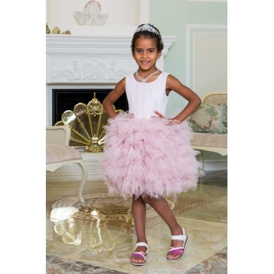 Нарядное бальное платье для девочки 11780