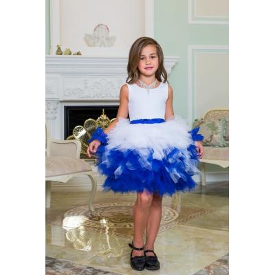 Нарядное бальное платье для девочки 11779