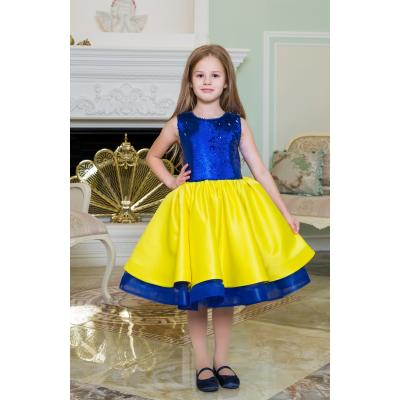 Нарядное бальное платье для девочки 11774