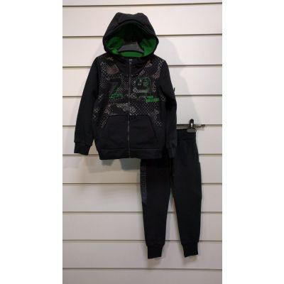 Комплект куртка и брюки для мальчика 101 5-73 черный ТМ ЛЯ-ЛЯ