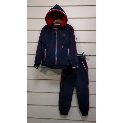 Спортивный костюм для мальчика 86885 сине-красный  ТМ Many&many