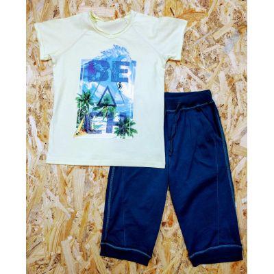 Комплект футболка и шорты для мальчика 3ТК108Б ТМ Ля-ЛЯ, Украина