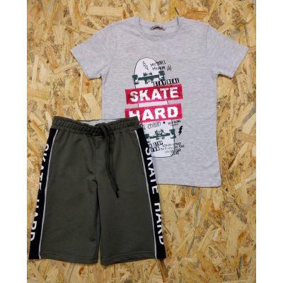 Комплект майка и шорты для мальчика 11207 серый  WANEX, Турция