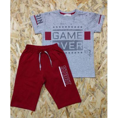 Костюм футболка и бриджы для мальчика 12098 Breeze boys, Турция