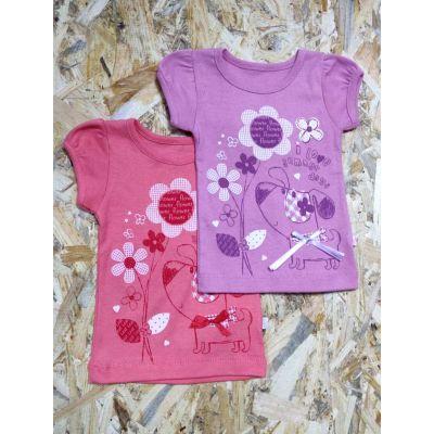 Футболка летняя для девочки 577-1006  ТМ Фламинго