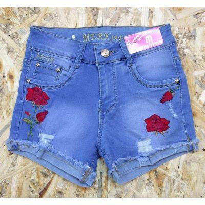 Шорты джинсовые для девочки 48130 Турция