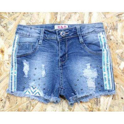 Шорты джинсовые для девочки 084/085 S&D kids,Венгрия