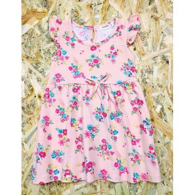 Платье трикотажное 11147коралл BREEZE GIRL, Турция