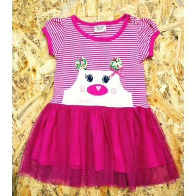 Платье трикотажное  8977 малиновое