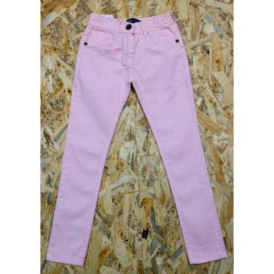 Брюки коттон для девочки 55153 пудра розовая