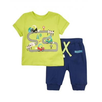 Комплект (футболка и шорты) для мальчика КС591ТМ Бемби, Украина