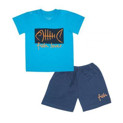 Комплект (футболка и шорты) для мальчика 11618