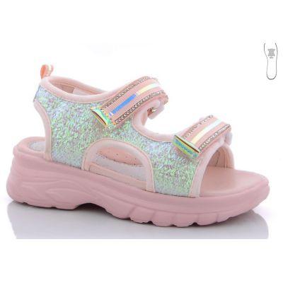 Босоножки для девочки FG396-2F розовые Kimb