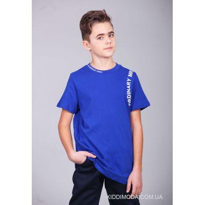 Футболка для мальчика 2704 синий электрик