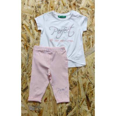 Комплект (туника и бриджи) для девочки 2600-021