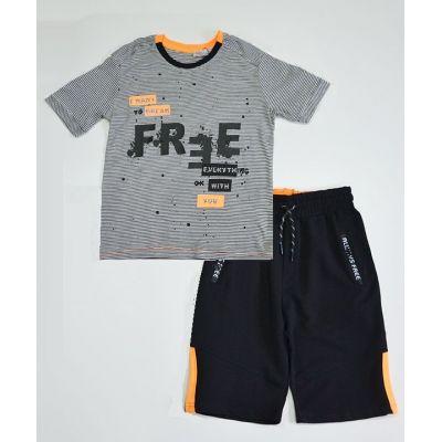 Комплект шорты и футболка для мальчика 2650-057