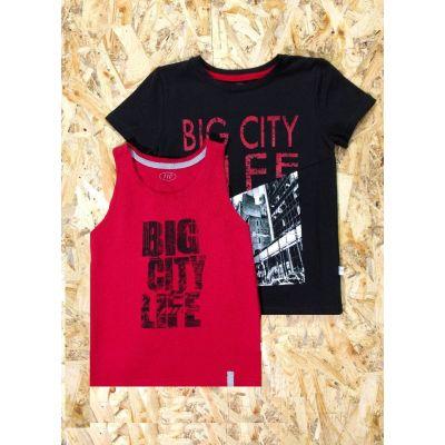 Комплект футболка + майка для мальчика 983-416