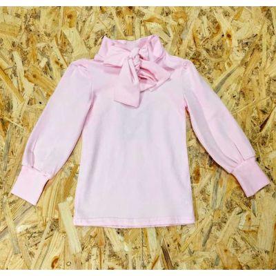 Блузка трикотажная 4418-4 розовая