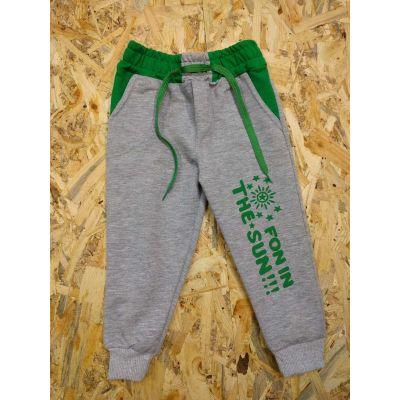 Спортивные брюки 10012 серые