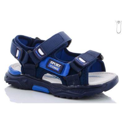 Сандали для мальчика DR341-3B синие Kimb