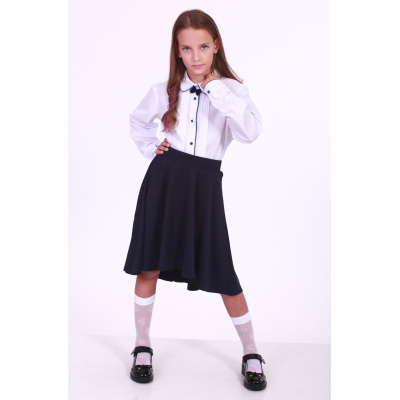 Блуза школьная для девочки 138 ТМ Малена