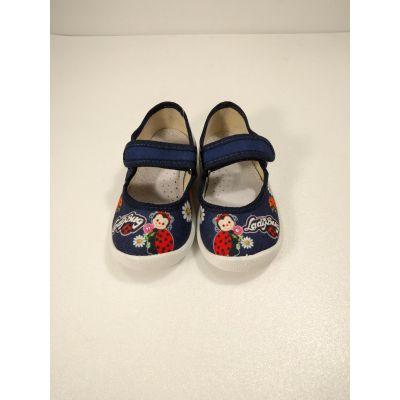 Туфли текстильные Катя LadyBug