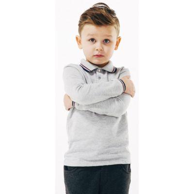 Футболка - поло д.р. для мальчика 114657 SMIL
