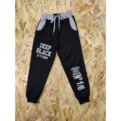 Спортивные брюки 5\7С004 черные