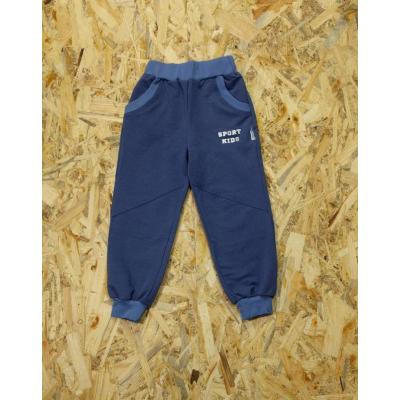 Спортивные брюки Индиго голубые