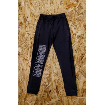 Спортивные брюки 195-16 темно синий