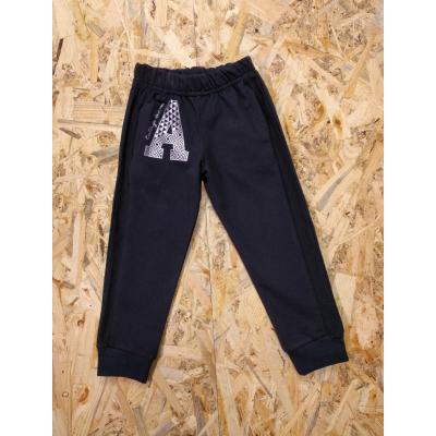 Спортивные брюки 195-16 А темно синие