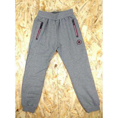 Спортивные брюки для мальчика YY-2931 серые