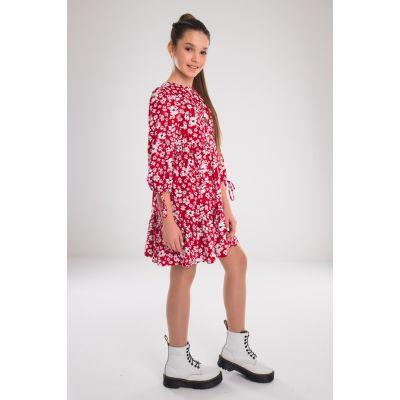Платье Молли красное
