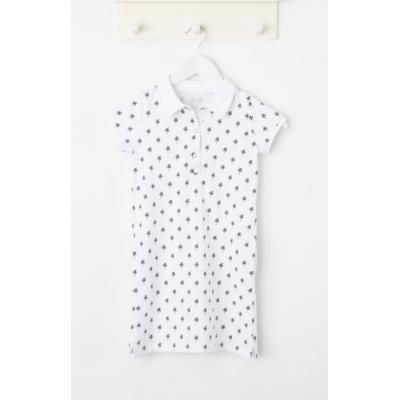 Платье лакоста белое 700-1305