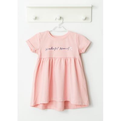 Платье розовое 047-417