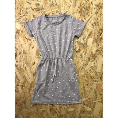 Платье серое 766-421