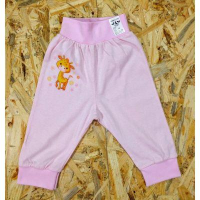 Штаны Жираф кулир розовый