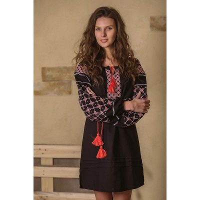 Платье вышиванка Анна-Мария