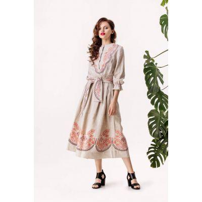 Платье вышиванка Ришелье